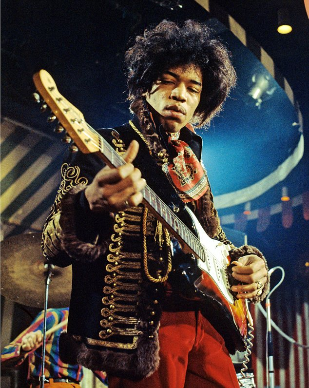 Jimi Hendrix - Sun in Sagittarius