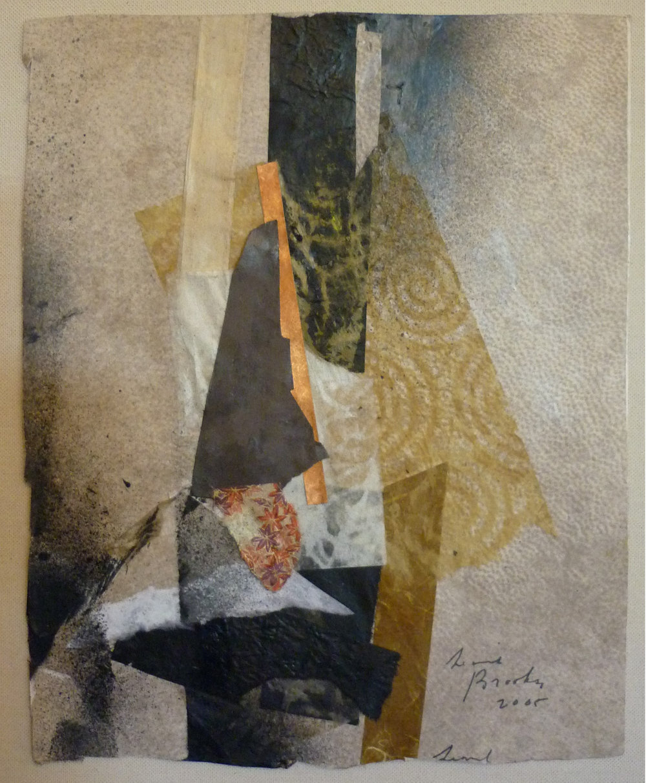 Collage  by Leonard Brooks