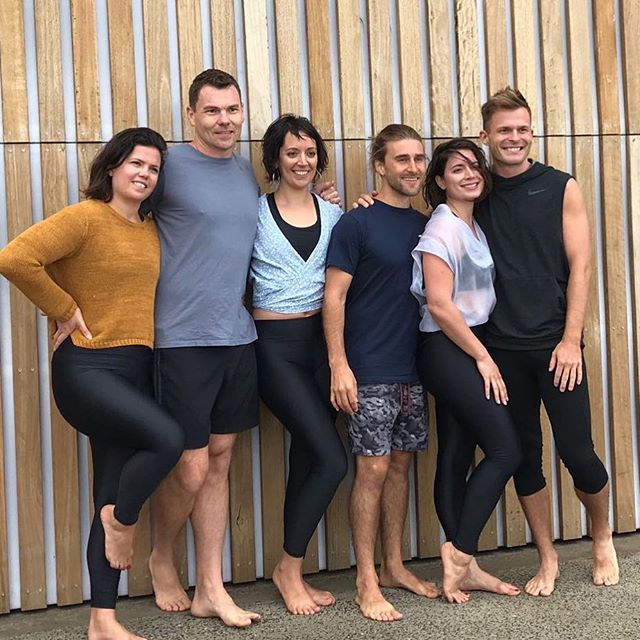So grateful for this crew and ALL the teachers at @powerlivingmelbourne . I am so blessed I get to work and have fun with such awesome human beings. You inspire me to be my best every day❤love you guys❤