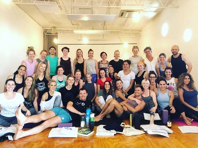 Our beautiful 200Hr Yoga Teacher trainees at Powerliving Fitzroy. Spent the last 4 days going deep into the world of yoga- great work guys, you are rocking it so far 👌🏻💪🏼💗💕❤ @powerlivingmelbourne  @powerliving