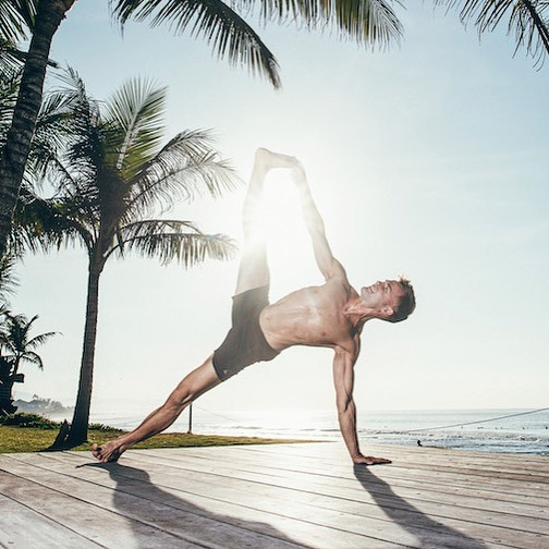 This was shot in Bali by the talented @leeroy.t . I had an amazing time learning from @yogidunx @lovenlaughter @colesylife @one_big_heart @megwilson_yoga and 81 beautiful students . Ever since I've moved to Australia it's been tricky trying to figure out where I 'fit in'. This last week proved that I am exactly where I need to be. Very grateful for this crew that made me feel this way. ❤💗💕 #yoga