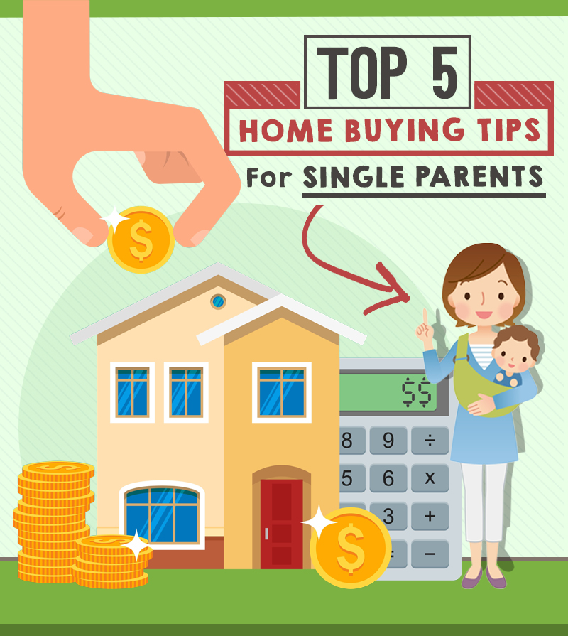 Top 5 Home Buying Tips For Single Parents