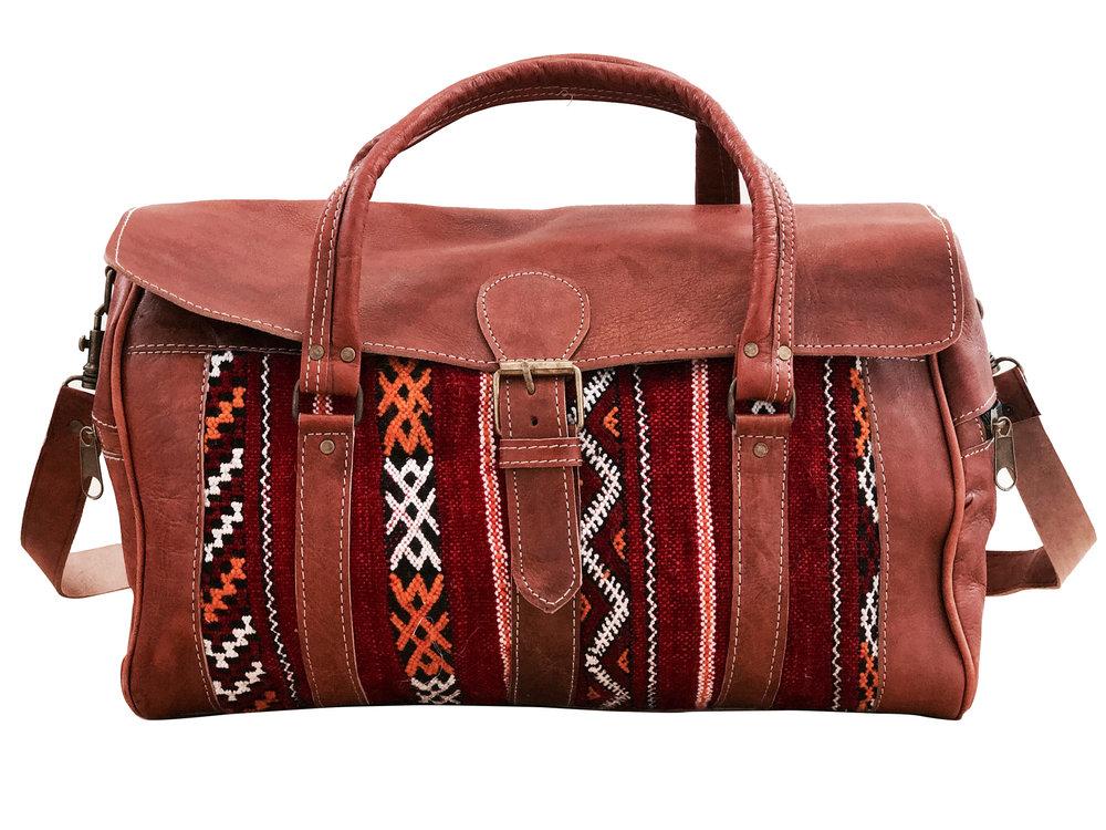 c6c447c4eb89 Moroccan Messenger Bag - Red — Moroccan Soul