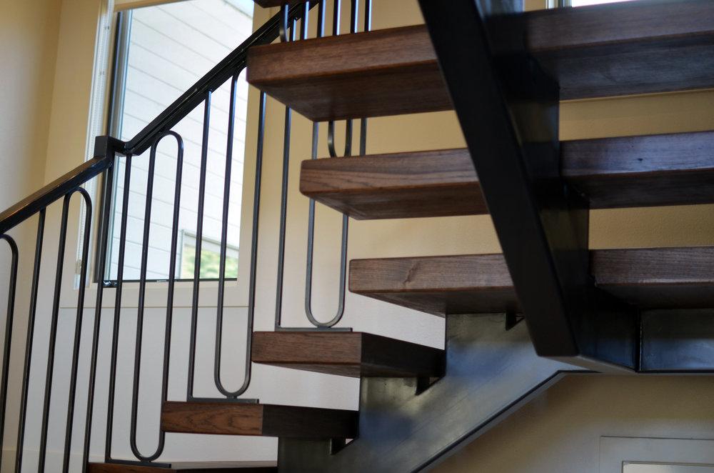 Freestanding Single Stringer Hickory Staircase 3.jpg