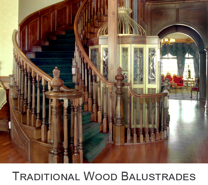 Traditional Wood Balustrades