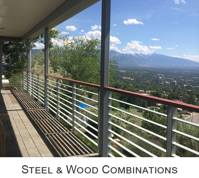 Steel and Wood Combinations