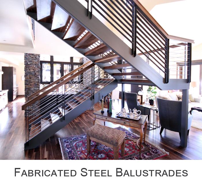 Full Iron Balustrades