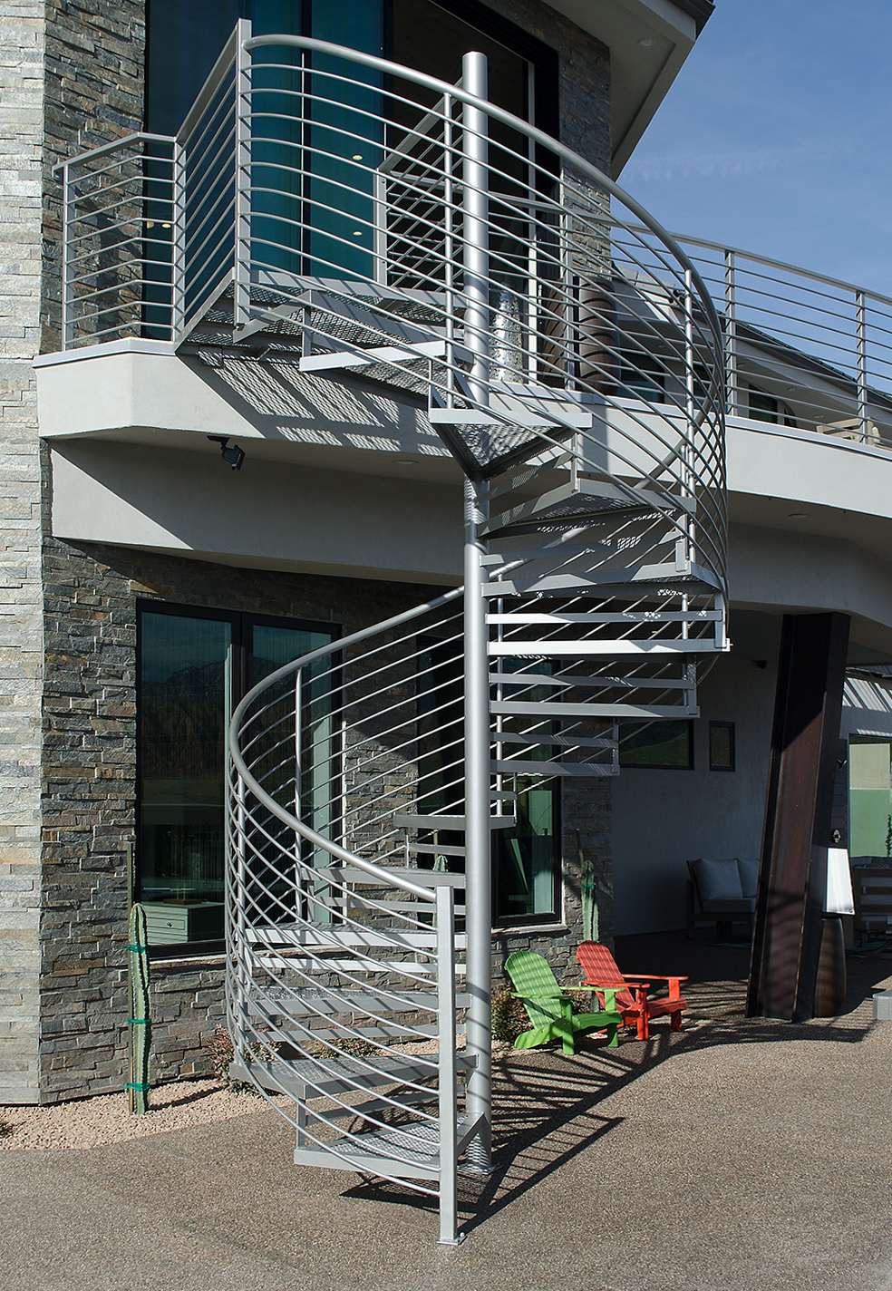 Exterior Staircases Titan Architectural Products Of Utah
