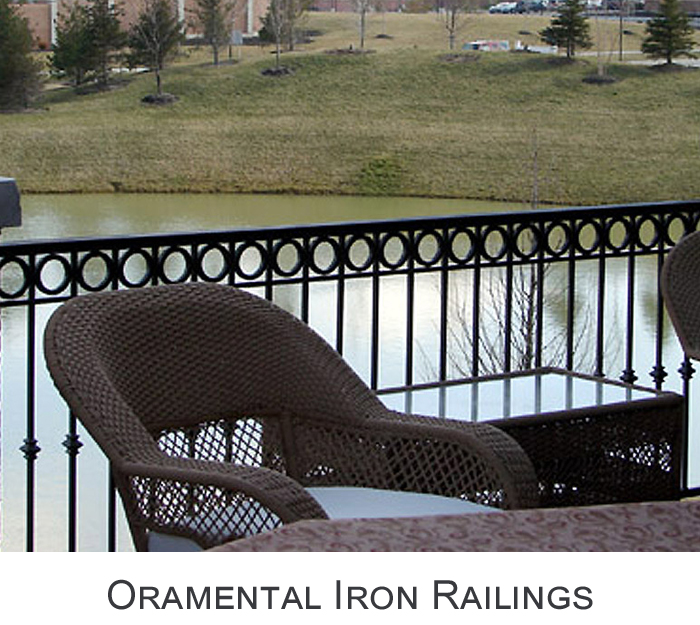 Ornamental Iron Balustrades