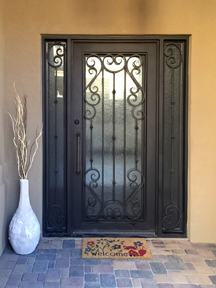 Ornamental wrought iron door with side light  3.jpg