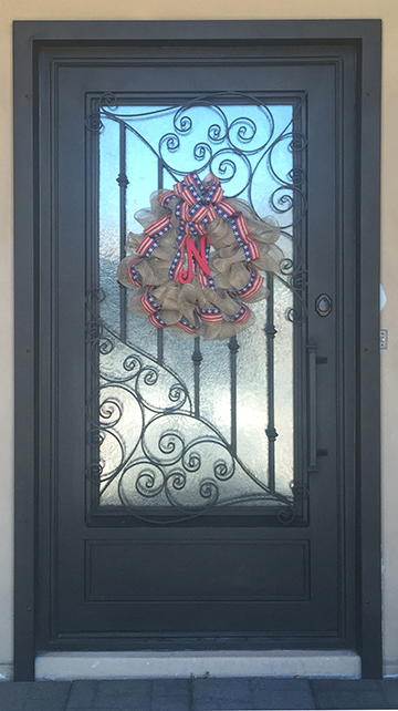 Ornamental wrought iron framed panel.jpg