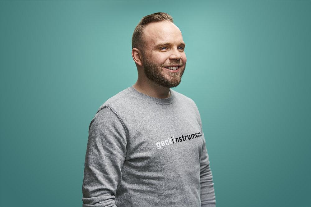Haraldur Hugosson Chief Operating Officer haraldur@genkiinstruments.com