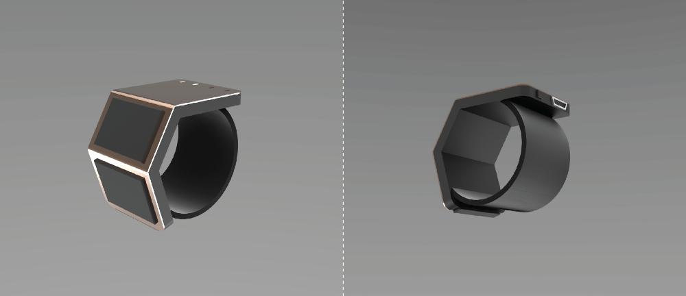 Wave Sketch Rendering — Wearable/Jewellery.
