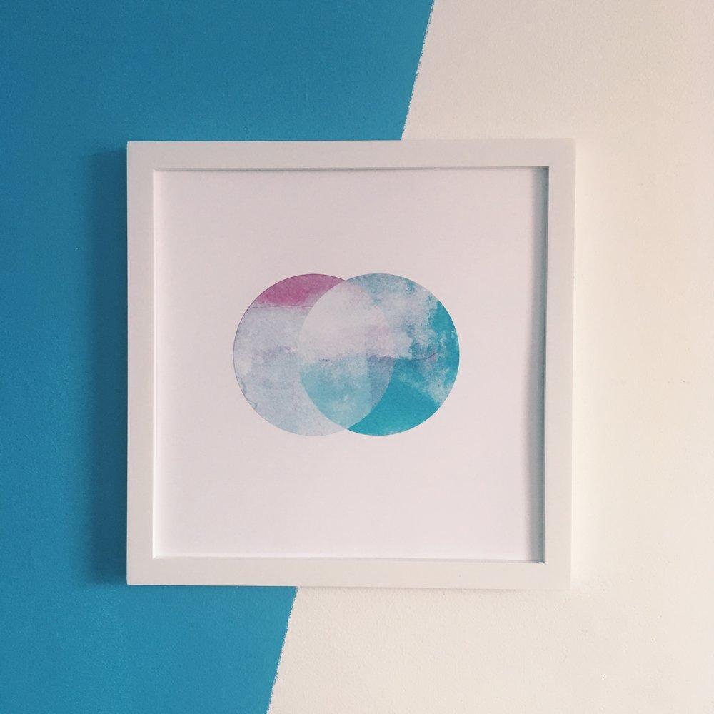 """Quiet, 12x12"""" digital print on fine art paper"""