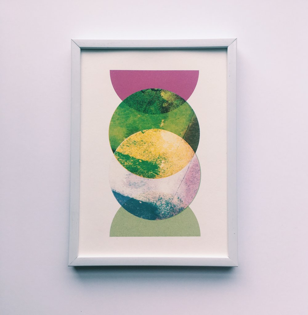 "Beyond, 5x7"" digital print on fine art paper"