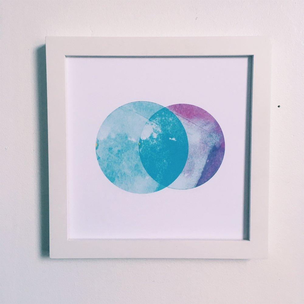 "Understanding, 8x8"" digital print on fine art paper"