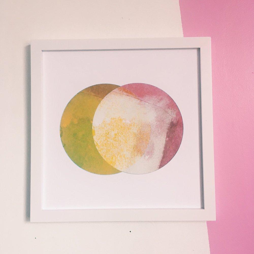 """Steady, 12x12"""" digital print on fine art paper"""