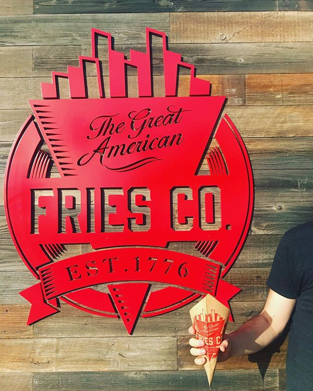 Good news, bad news. Good news, WE'VE BEEN BUSY AND WE SOLD OUT OF FRIES!  Bad news; we are closed today because we sold out of fries.  We'll be back open tomorrow from 1 to 9 so come on down for some #fryday fun!