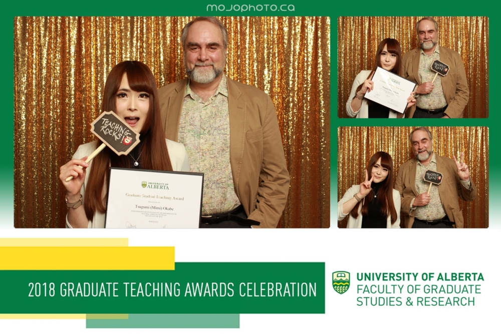 Thank you to my research supervisor,  Dr. Geoffrey Rockwell  for his guidance and support in all aspects of my professional and teaching career.
