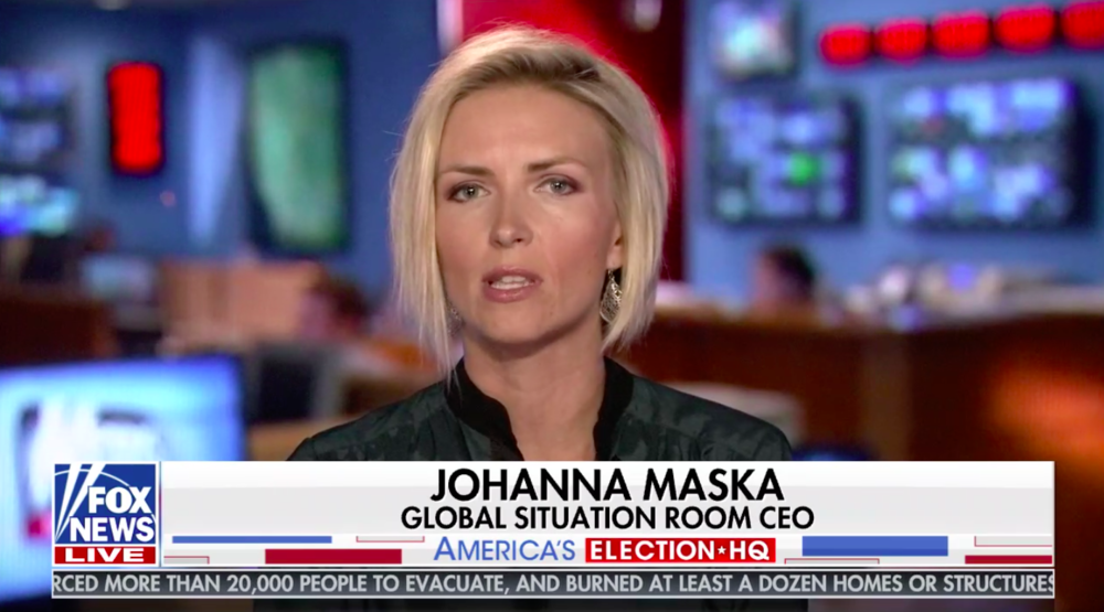 Johanna Maska - CEO, Global Situation Room, Inc