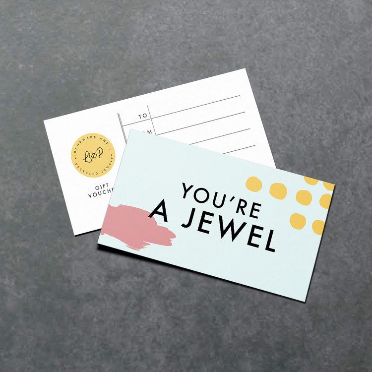50 Gift Certificate Liz P Jewelry