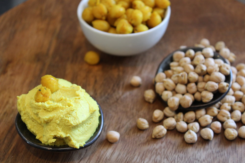 Retreat Kitchen Turmeric Hummus