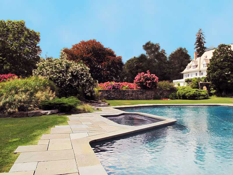 Briggs Landscape Design worked on Copper Beech Farms in Greenwich, CT.