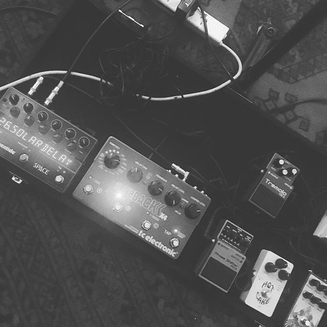 Next stop the moon... #melbourne #rockandroll #livemusic #indiemusic #guitarpedal #reverb
