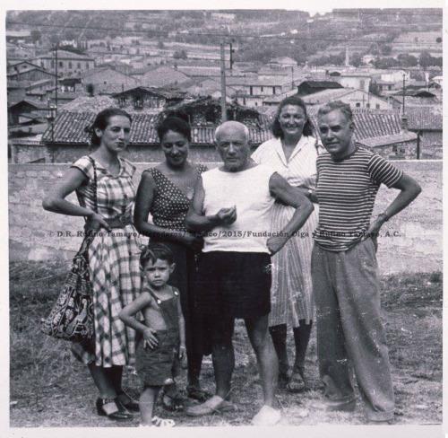 Pablo Picasso and Rufino Tamayo