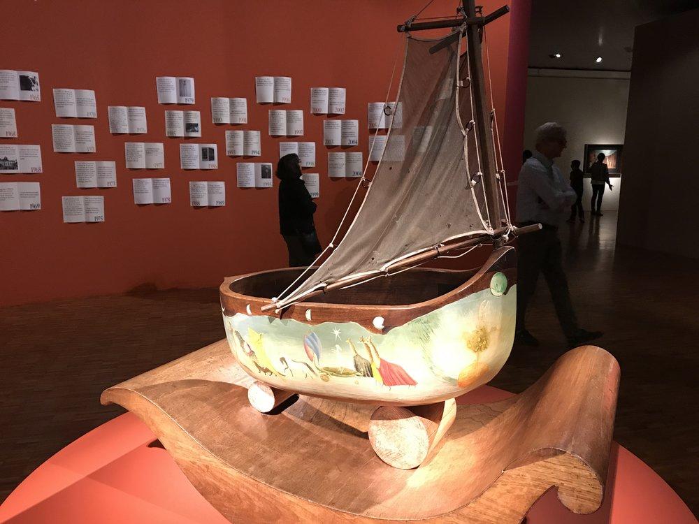 Leonora Carrington boat