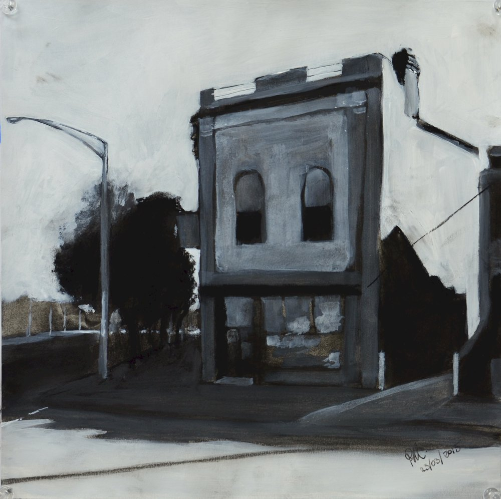 Sketch for View to Flemington Road