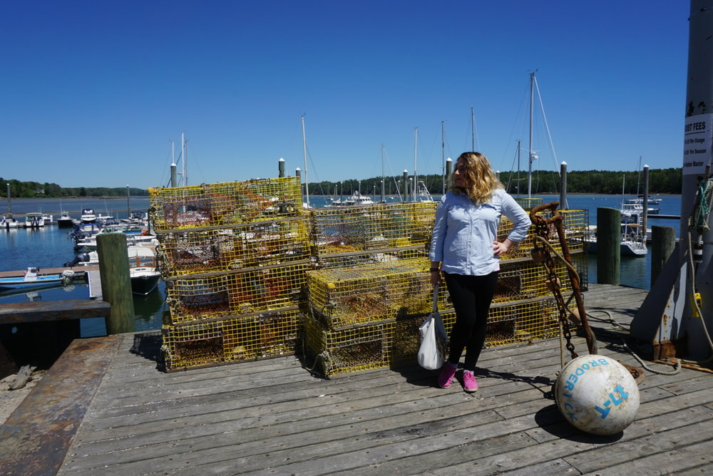 I have a soft spot for lobster pots (traps?). Brendan said they're called lobster pots and he's the Mainer, so I trust him.
