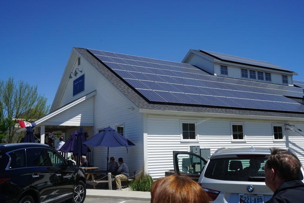 Solar panel galore!