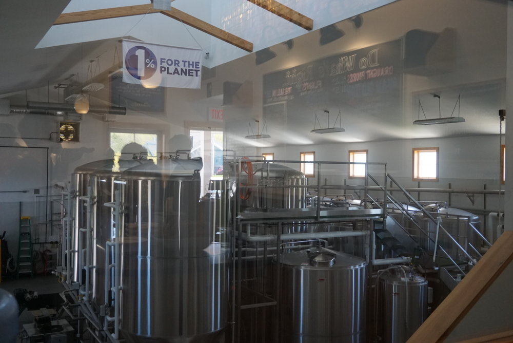 The Maine Beer Company has pledged to donate 1% of it's sales to various environmental non-profits. So much YES! <3