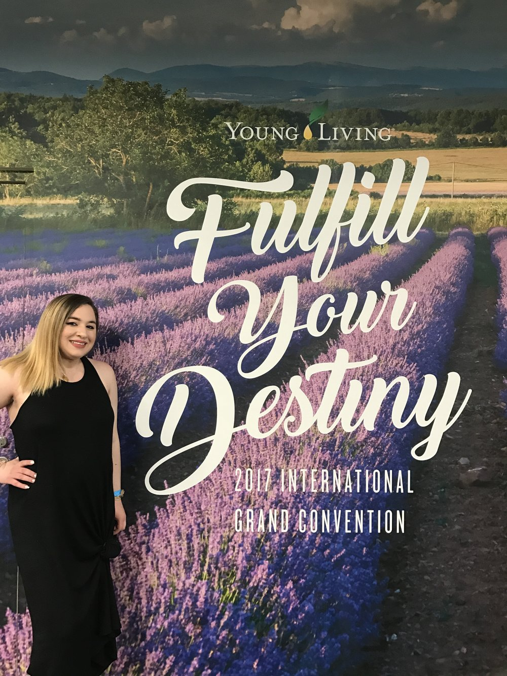 This year's Young Living Convention theme was Fulfill Your Destiny!