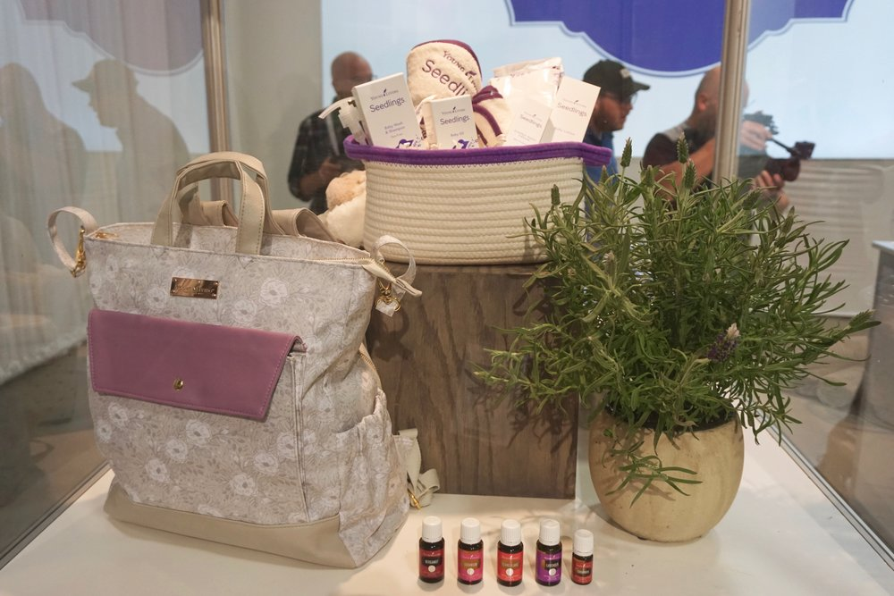 The new Seedlings baby line! So excited to tell all my mama friends about this! Another highlight from Convention was this adorable diaper bag from  YL Gear ! It can be ordered on their website!