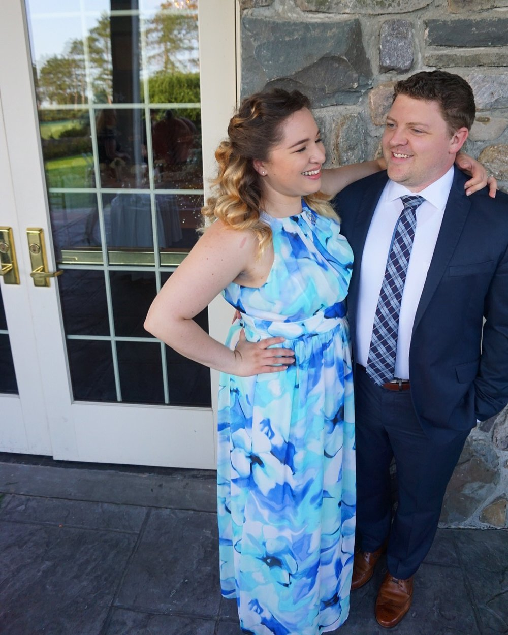 That's us smiling. Feeling great and surviving our first wedding where we only ate Whole 30 compliant.