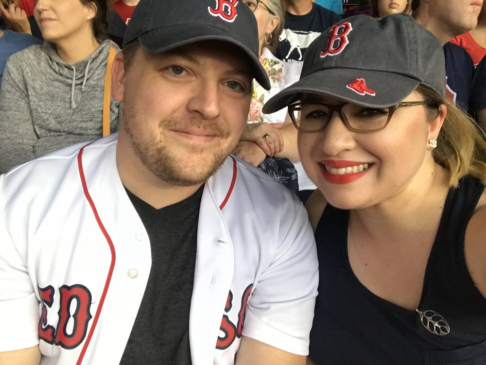 We also survived our first Red Sox game at Fenway without any Fenway Franks, frozen lemonade, beer...well, really anything but water. I also brought dried fruit. It's not the same. This may have been our hardest day.