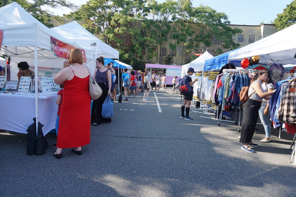 It's a small market, but there were so many talented artisans and curious sellers.