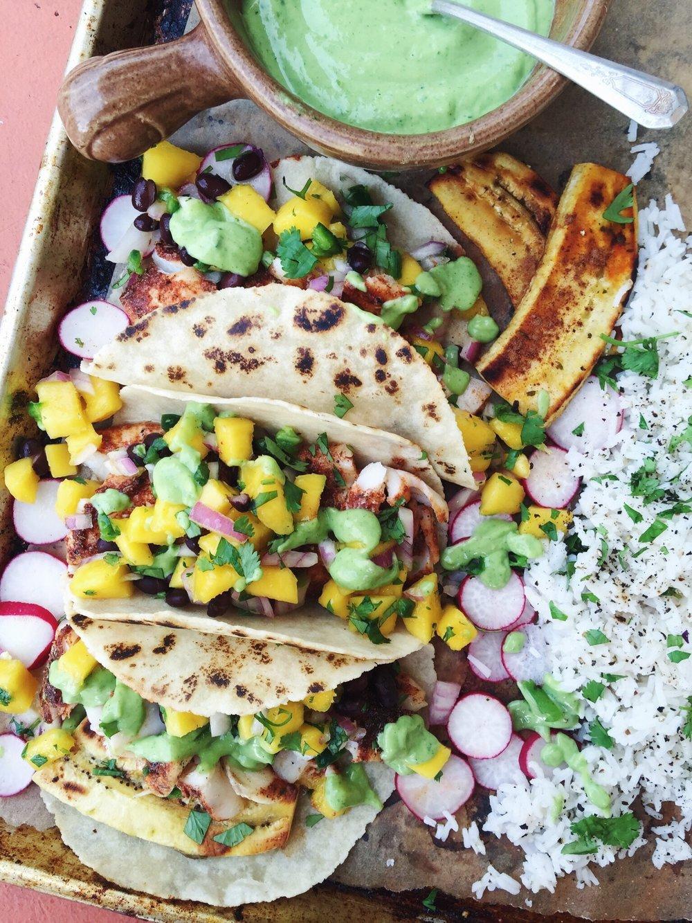 Taco platter!