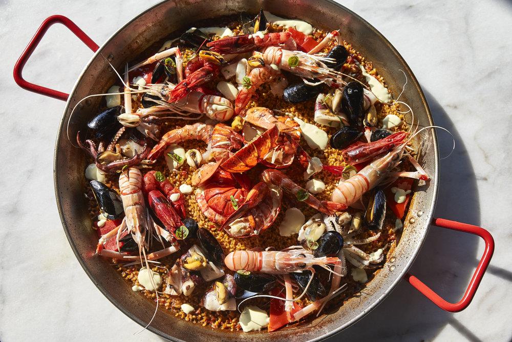Spanish Coastal Fare