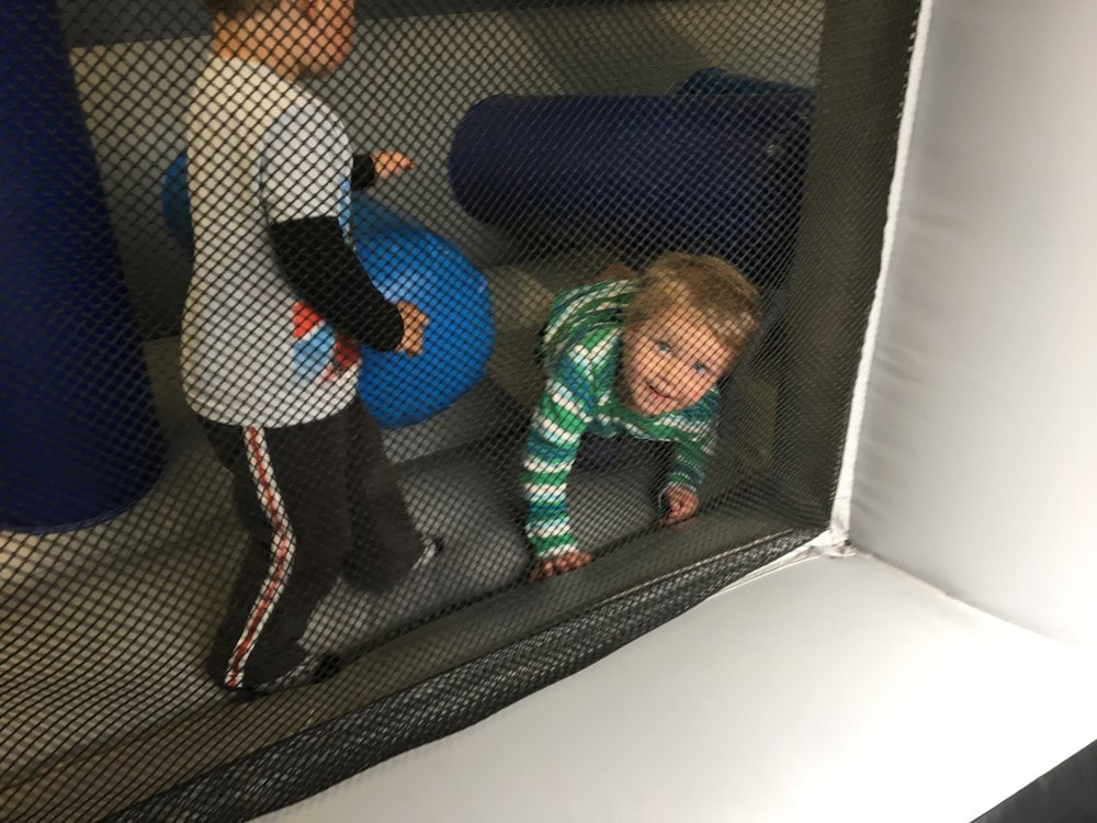 Obstacle course fun (April 2017)