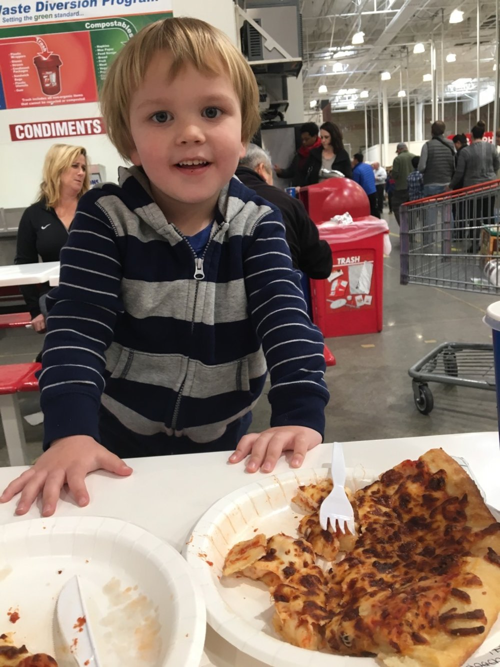 Special Costco Pizza Day! (February 2017)