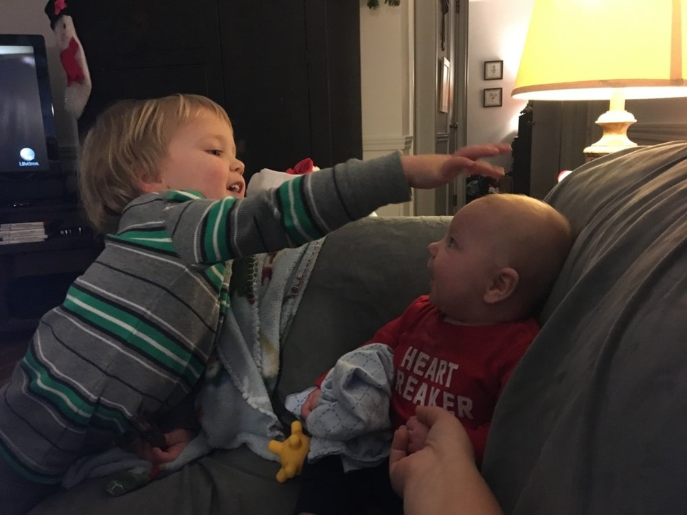 Playing with big brother