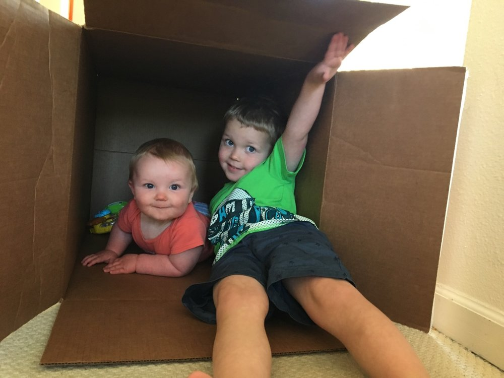 Playing in the box with Q (June)