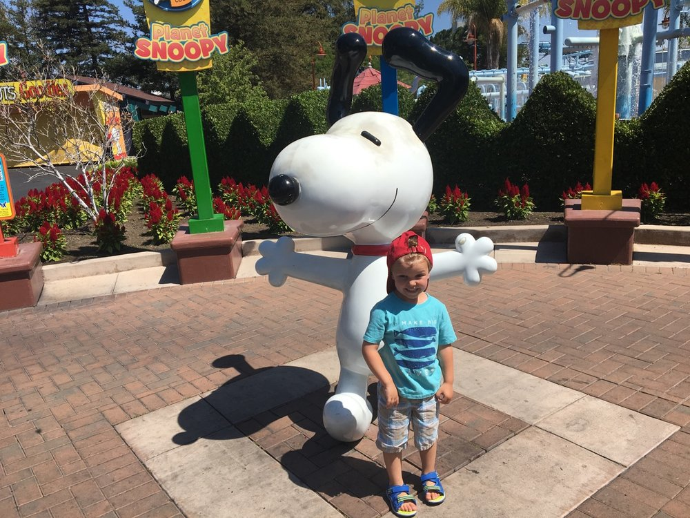 Hanging with Snoopy (July)