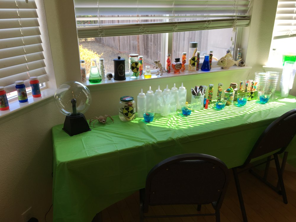 The science table