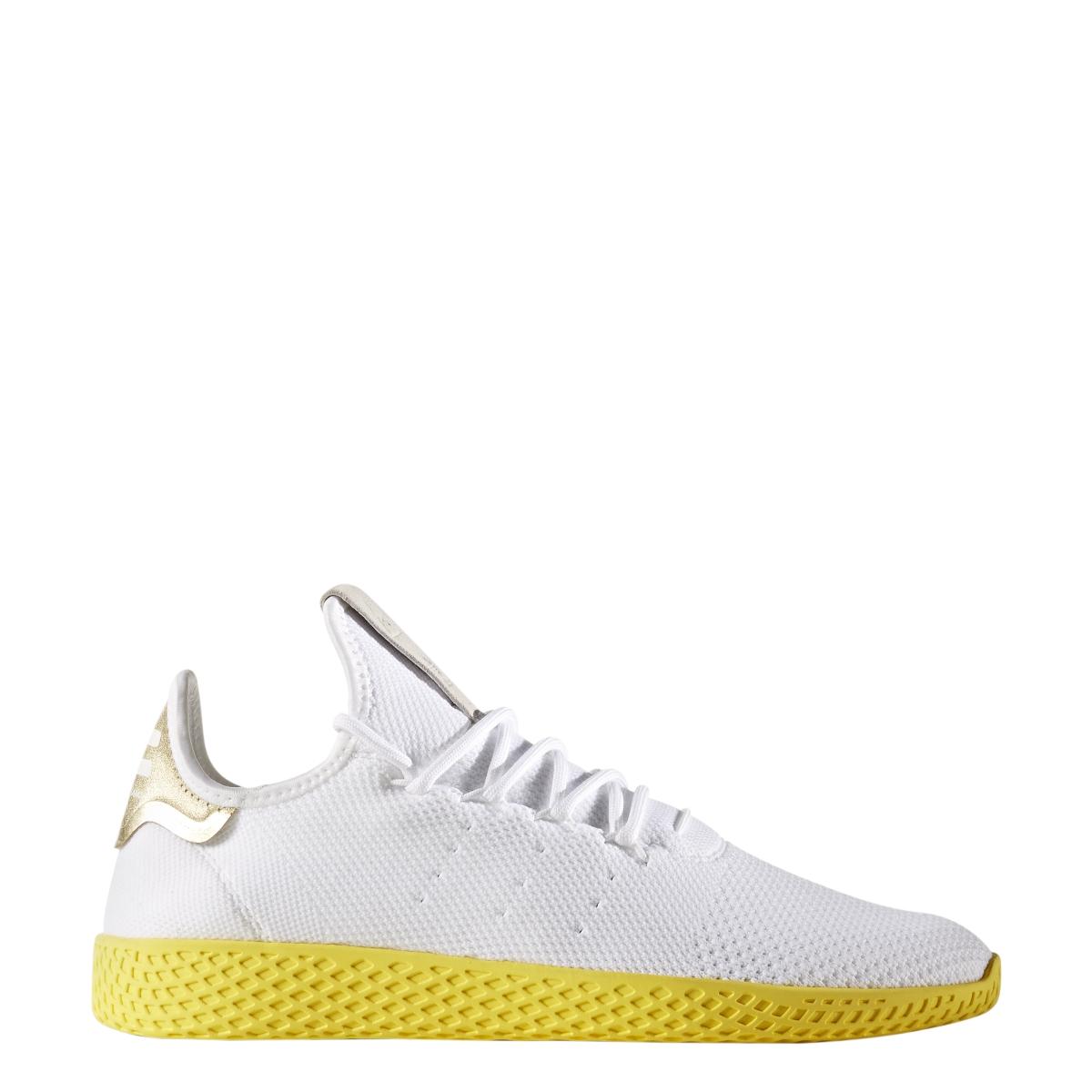 Adidas x Pharrell Williams Tennis Hu in Running White — MAJOR 6a31179ee