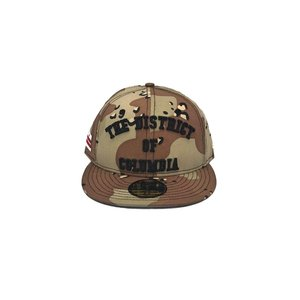 MAJOR x New Era The District of Columbia Desert Camo Fitted 59Fifty ... 4d3a90b662d5
