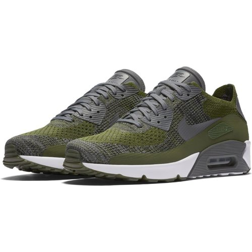 b6dd8af9f8 ... Nike Air Max 90 Ultra 2.0 Flyknit in Rough Green ...